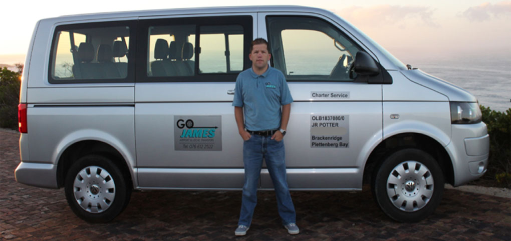 Go James Airport Transfers from Plett to George